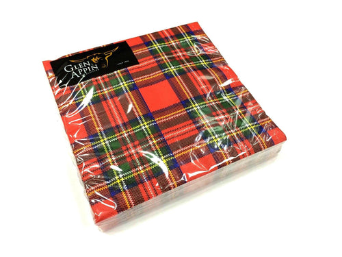 The Scottish Company Glen Appin Royal Stewart Napkins