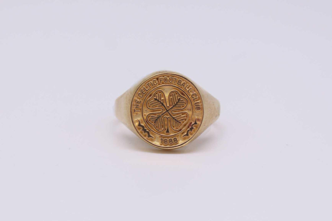 Celtic Footbal Club Ring | The Scottish Company | Toronto Canada