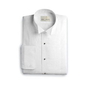 Boy's Pleated Wing Tip Dress Shirt | The Scottish Company