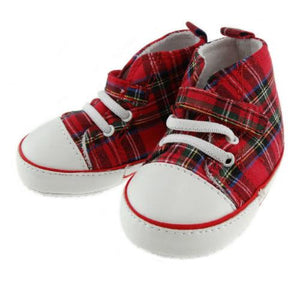 Tartan Baseball Booties | The Scottish Company