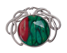 Heathergems | Sterling Silver Celtic Brooch