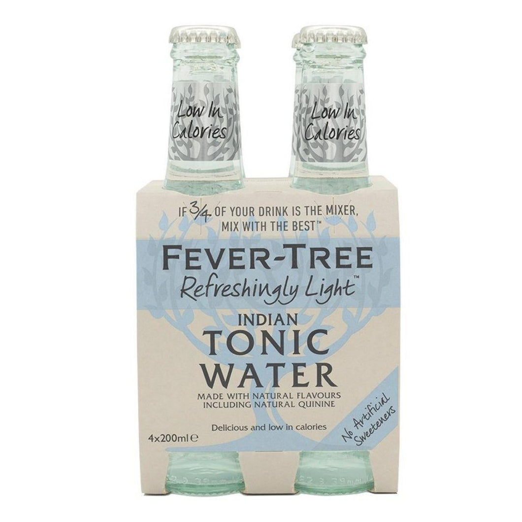 Fever Tree Light Indian Tonic Water 4pk | The Scottish Company