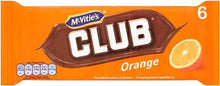 McVitie's | Club Orange
