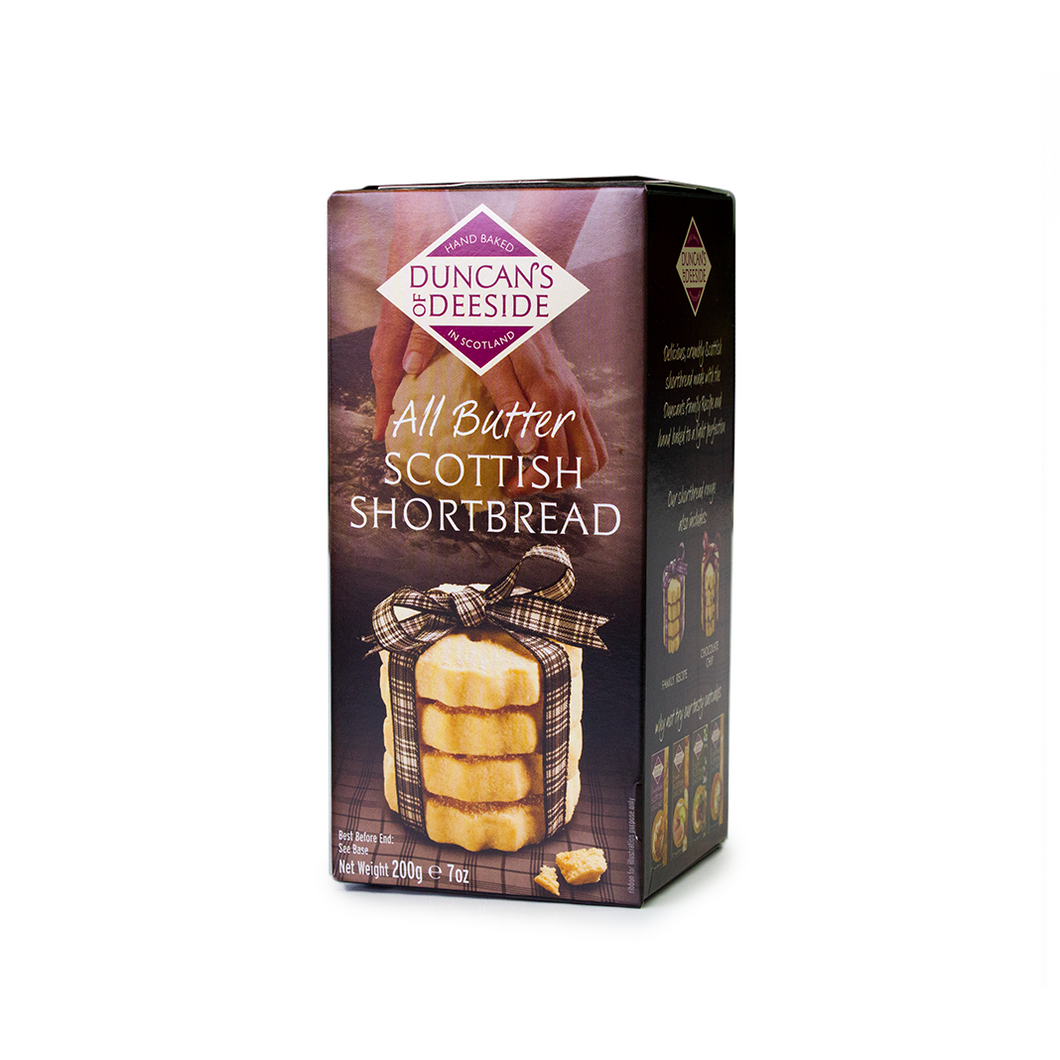 Duncan's of Deeside All Butter Scottish Shortbread 200g | The Scottish Company | Toronto