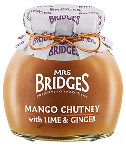 Mrs. Bridges | Mango Chutney with Lime & Ginger
