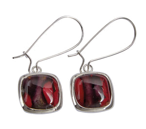 Heathergems| Square Drop Earrings