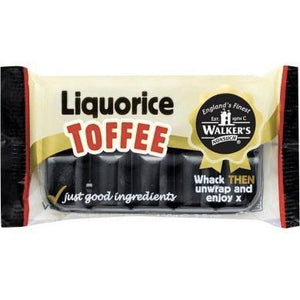 Walker's Toffee | Liquorice