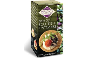 Duncan's of Deeside Olive Oil Scottish Oatcakes | The Scottish Company | Toronto