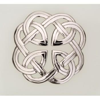 Plaid Brooch | Eternal Interlace