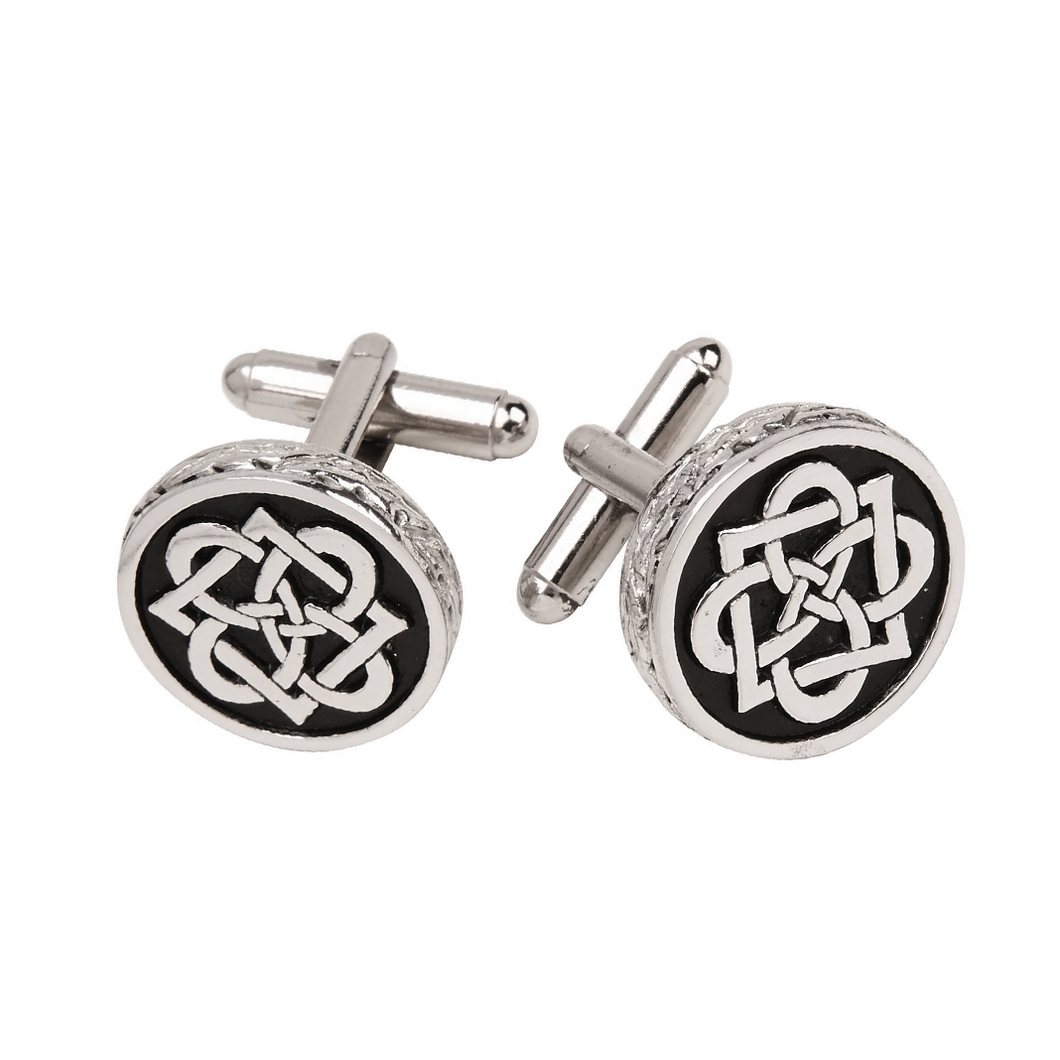 Pewter Celtic Cufflinks | The Scottish Company | Toronto