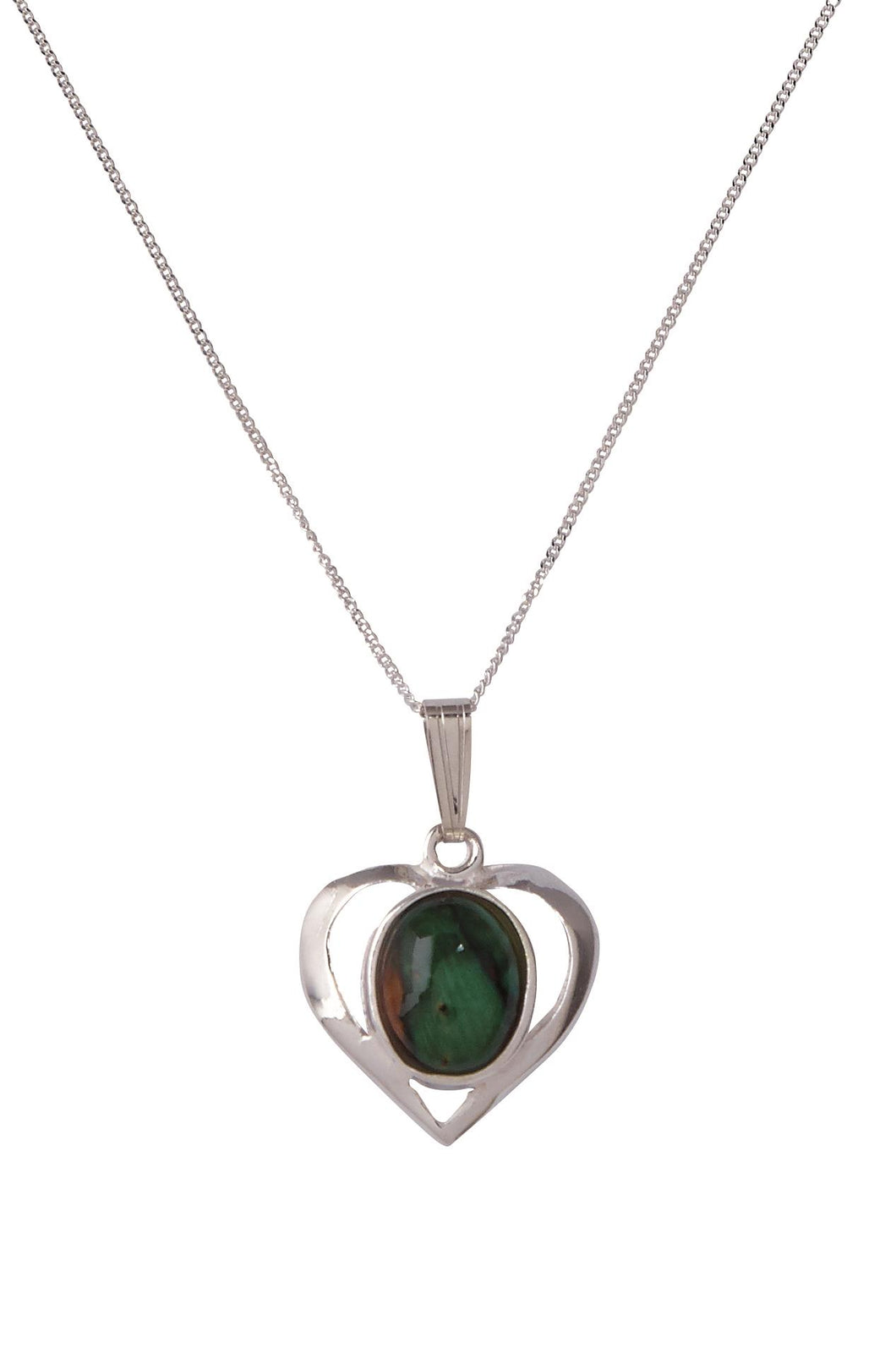 Heathergems | Open Heart Pendant