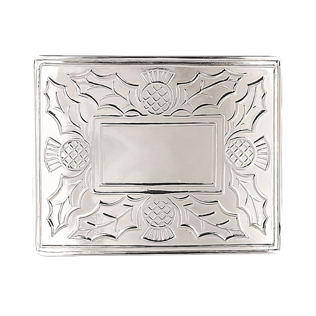 Belt Buckle | Thistle Design