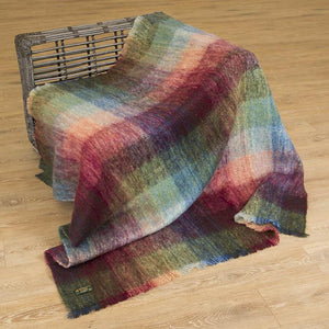 John Hanly Mohair & Wool blanket | The Scottish Company