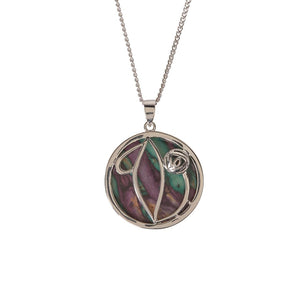 Mackintosh Style Heathergem Pendant | The Scottish Company | Toronto