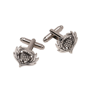 Thistle Cufflinks | The Scottish Company | Toronto