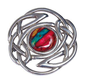 Heathergems Celtic Knot Brooch | The Scottish Company | Toronto