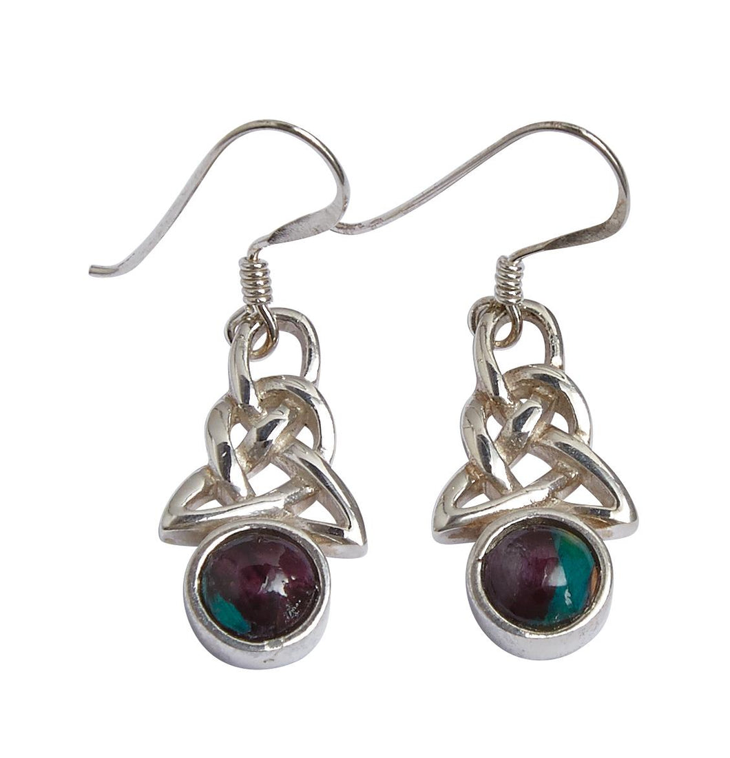 Celtic Heathergem Earrings | The Scottish Company | Toronto