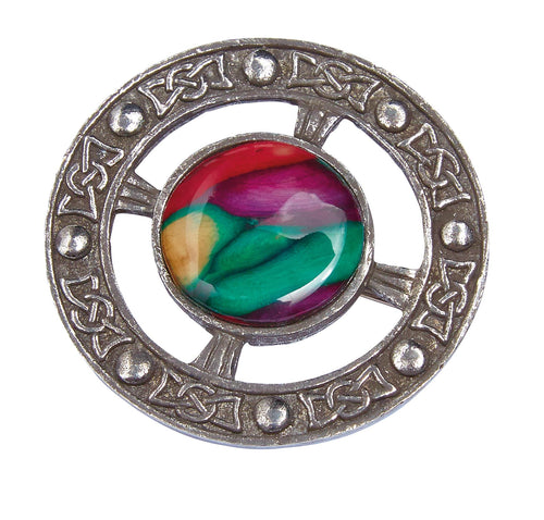 Heathergems Celtic Pewter Brooch | The Scottish Company | Toronto