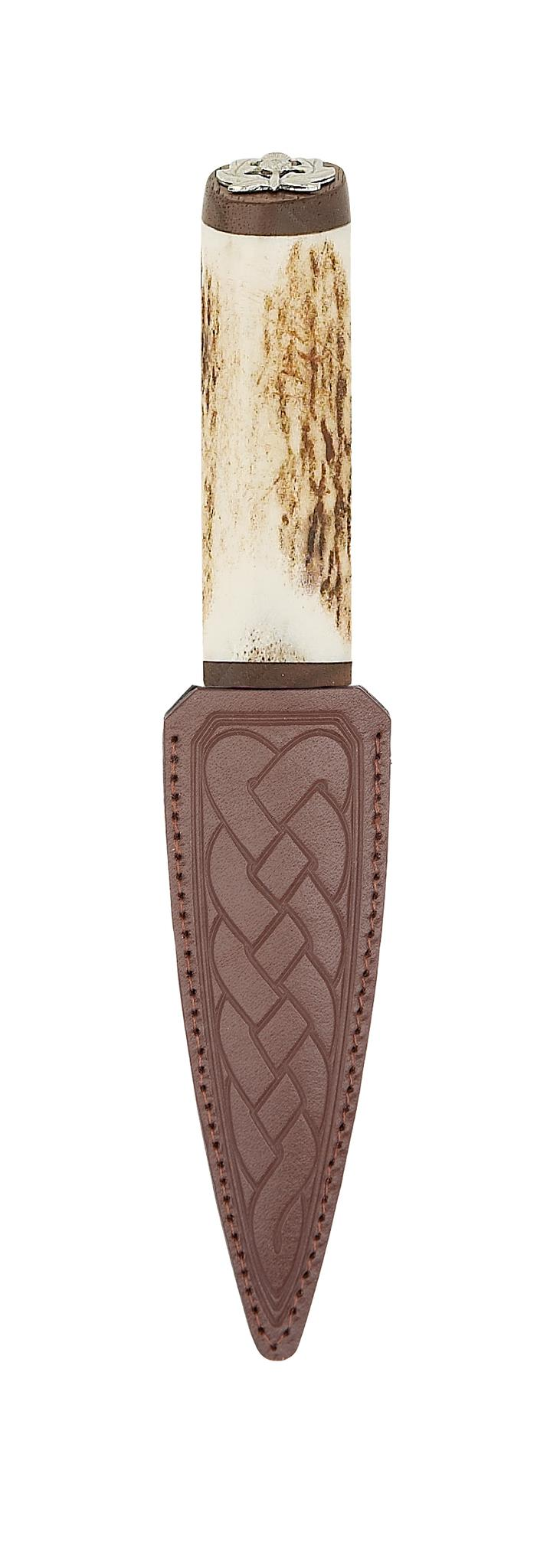 Staghorn Sgian Dubh Sheathed | The Scottish Company | Toronto
