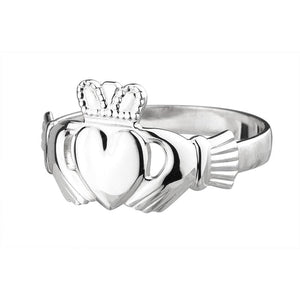 Claddagh Ring | Ladies Sterling Silver