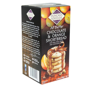 Duncan's of Deeside | All Butter Chocolate & Orange Shortbread