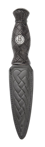 Daywear Sgian Dubh | Celtic design with Thistle emblem