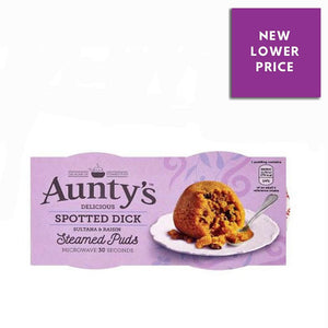 Aunty's | Spotted Dick Steamed Puds