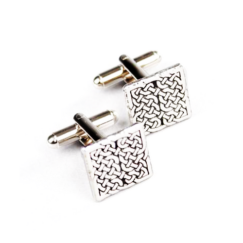 Celtic Knot Square Cufflinks