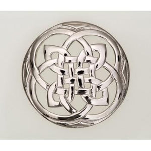 Plaid Brooch | Celtic