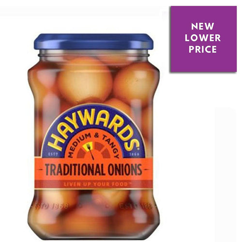 Haywards Medium and Tangy Traditional Onions | The Scottish Company