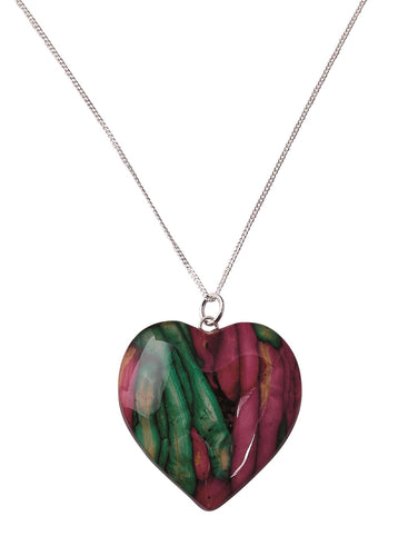 Heart Heathergem Pendant | The Scottish Company | Toronto