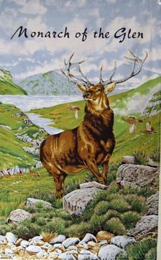 Monarch of the Glen Tea Towel | The Scottish Company | Toronto Canada