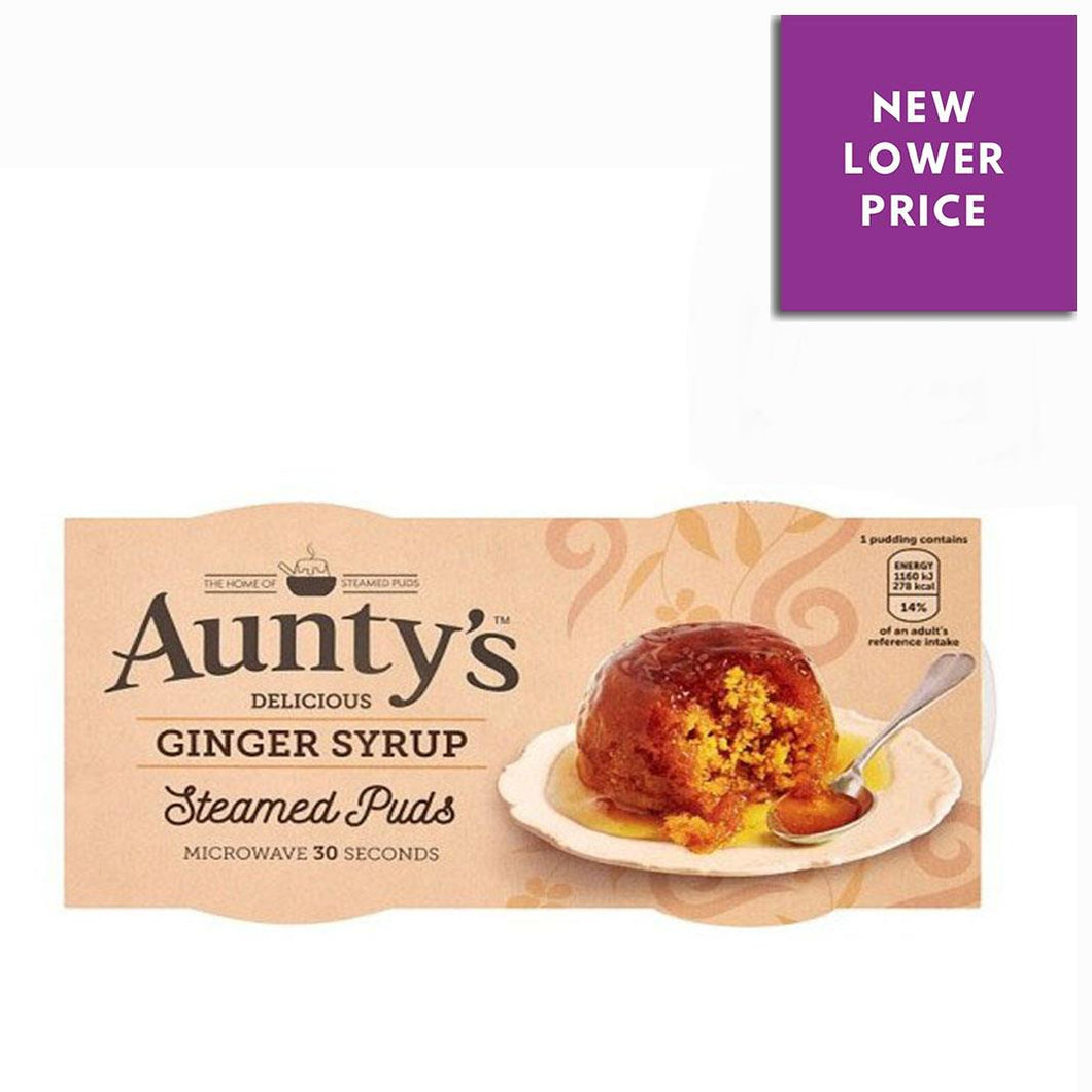 Aunty's | Ginger Syrup Steamed Puds