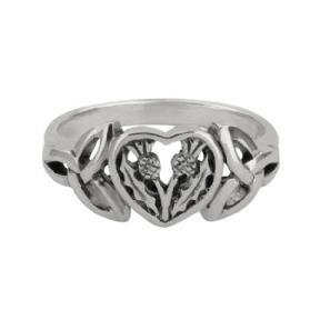 Hamilton & Young | Thistle Heart Ring