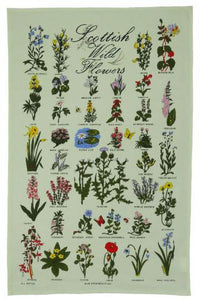 Wild Flowers Tea Towel | The Scottish Company | Toronto Canada