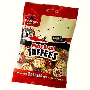 Walkers | Nutty Brazil Toffees