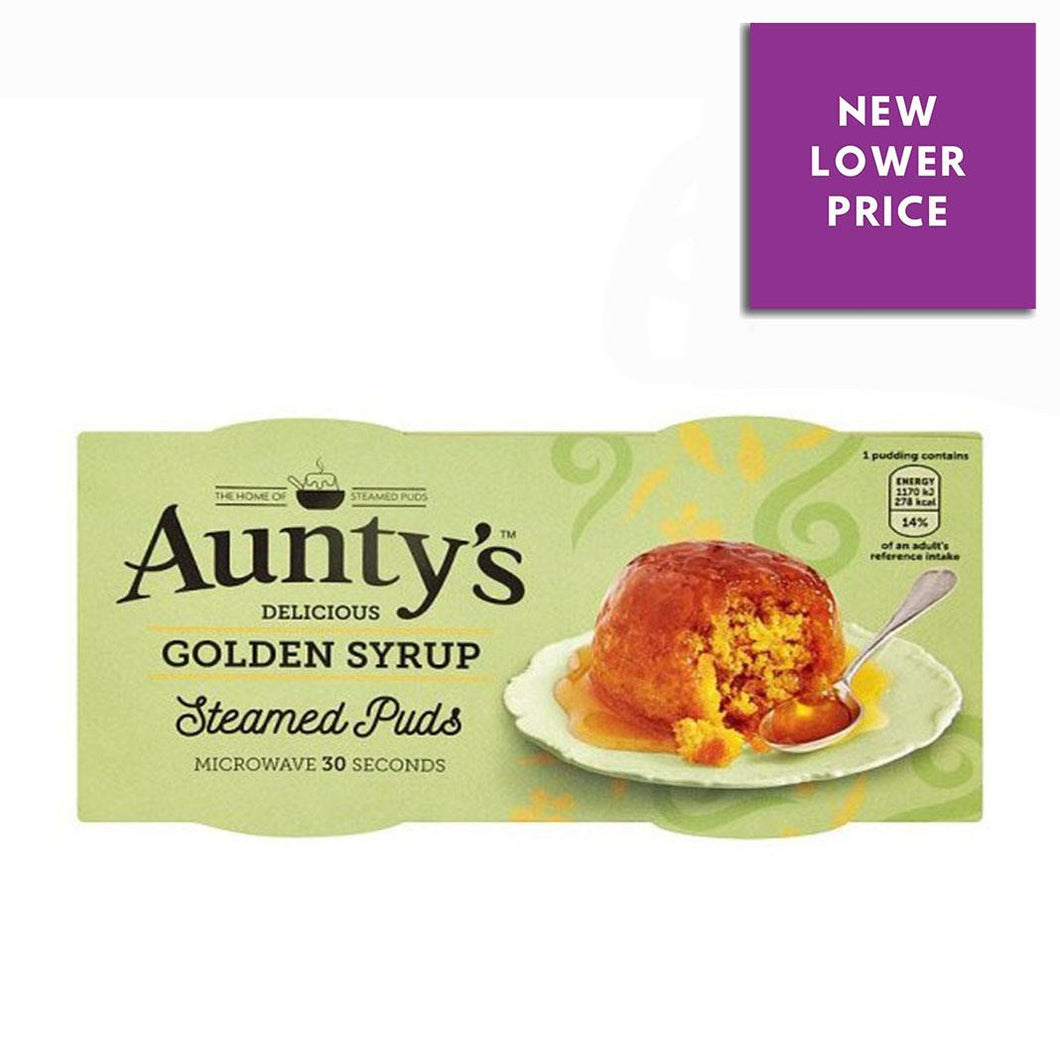 Aunty's | Golden Syrup Steamed Puds