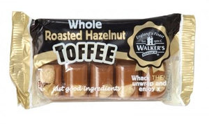 Walkers Toffee with whole roasted hazelnuts 100g | The Scottish Company