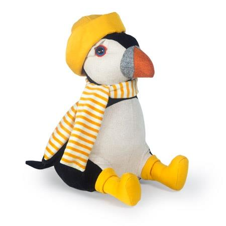 Dora Designs | John Fischer the Puffin Doorstop