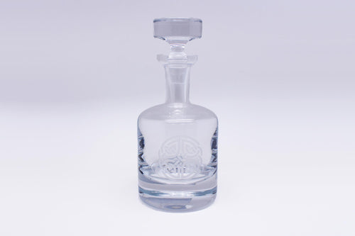 Burns Crystal | Celtic Knot Round Decanter