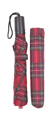 Royal Stewart Tartan Folding Umbrella