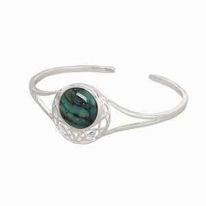 Cormag Celtic Heathergem Bangle | The Scottish Company | Toronto
