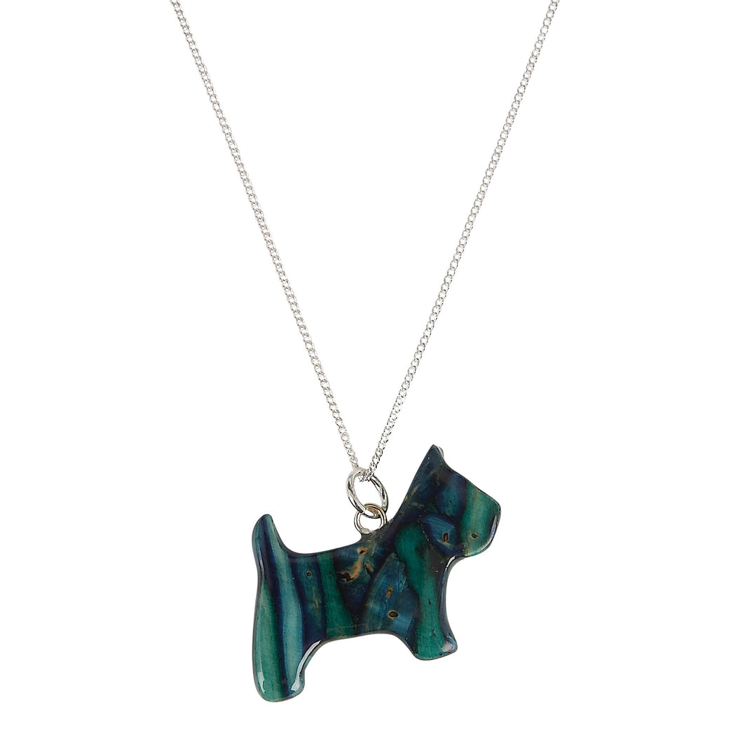 Scottie Dog Heathergem Necklace | The Scottish Company | Toronto