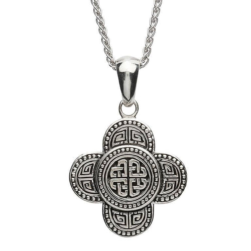 Celtic Tribal Knot Sterling Silver Pendant