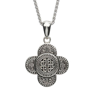 Shanore | Celtic Tribal Knot Sterling Silver Pendant