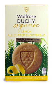 Waitrose Duchy Sicilian Lemon Organic Shortbread | The Scottish Company