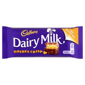 Cadbury | Golden Crisp Chocolate Bar