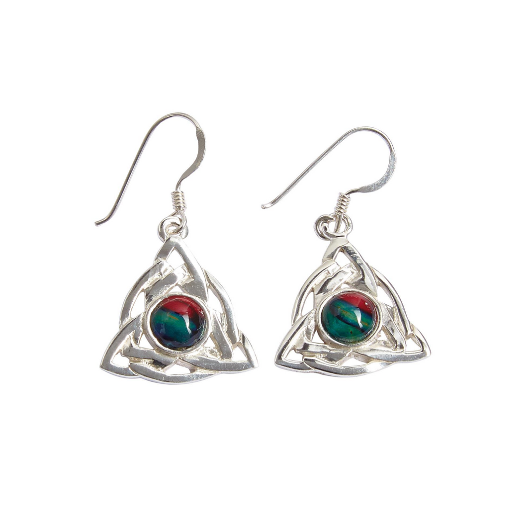 Celtic Knot Heathergem Earrings | The Scottish Company | Toronto