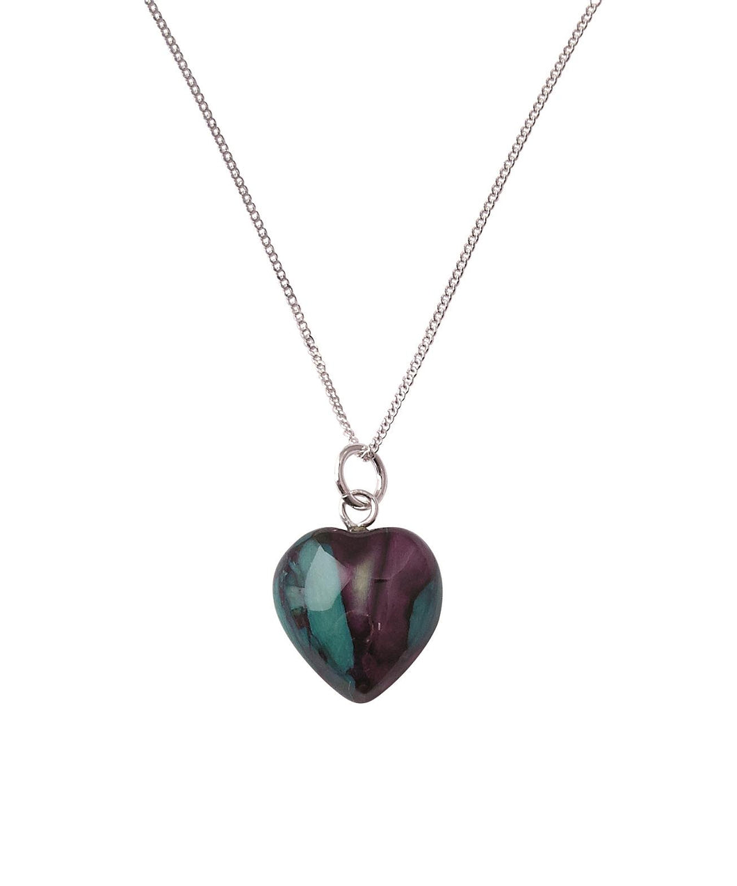 Heathergems | Sterling Silver Wee Heart Pendant