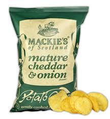Mackie's of Scotland | Mature Cheddar and Onion Flavour Crisps